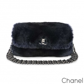 Chanel Orylag Triple Chain Flap Bag